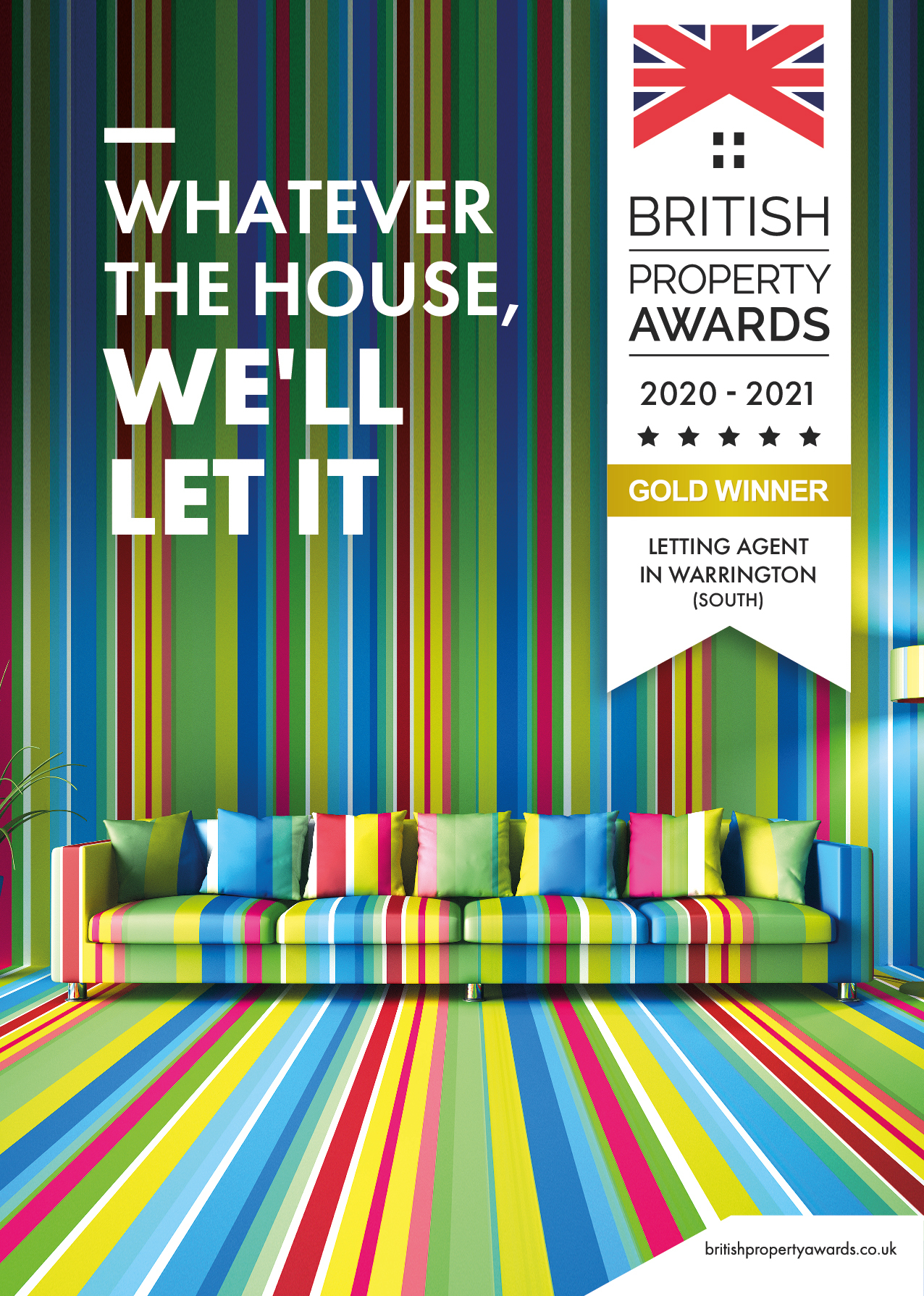 British Property Awards - Gold Winner - 2021