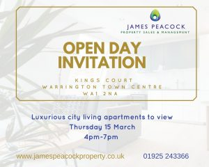 Invitation open day kings court