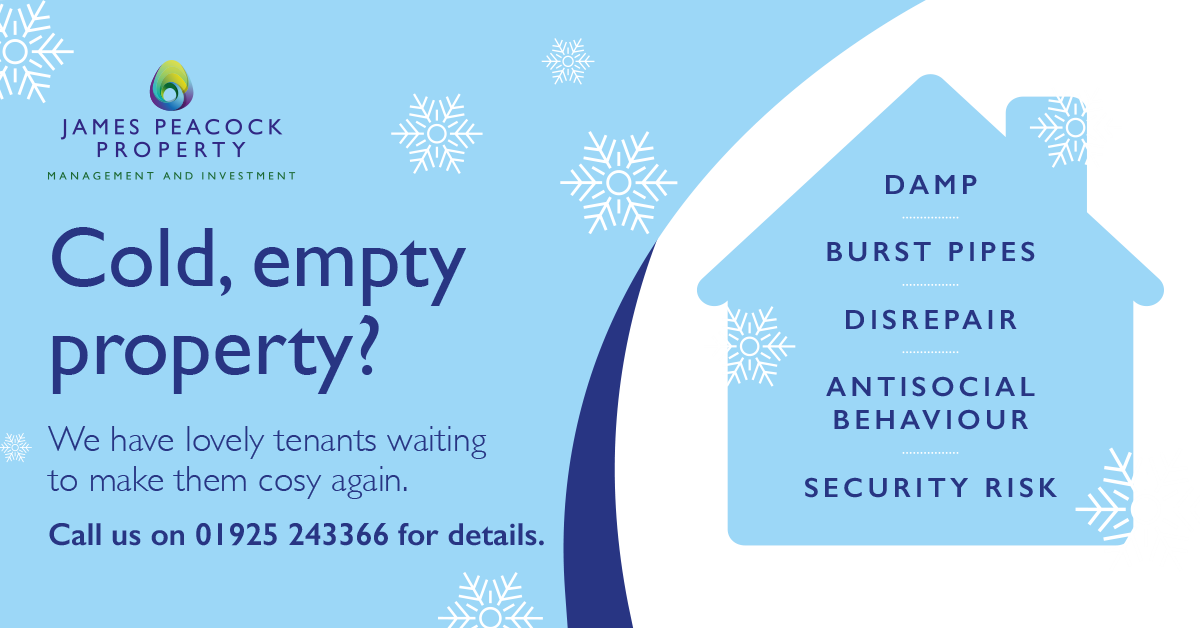 Do you have an empty property in Cheshire and Warrington? We'd love to help