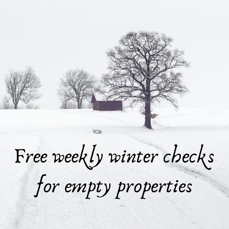 Free Winter Checks for empty properties